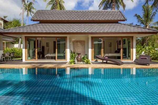 Baan Batur a balinese style villa near Chaweng - Image 1 - Chaweng - rentals