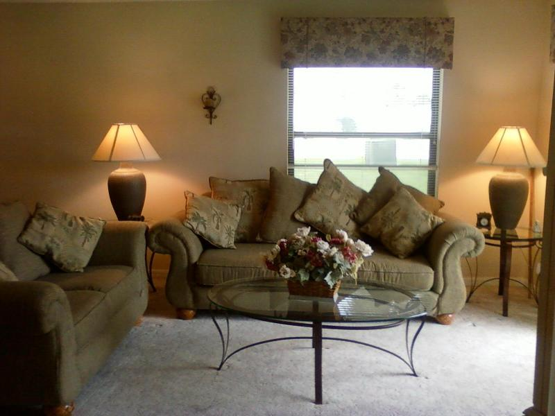 Living Room - Ground Floor Pet friendly condo Ocean Village Club - Saint Augustine - rentals