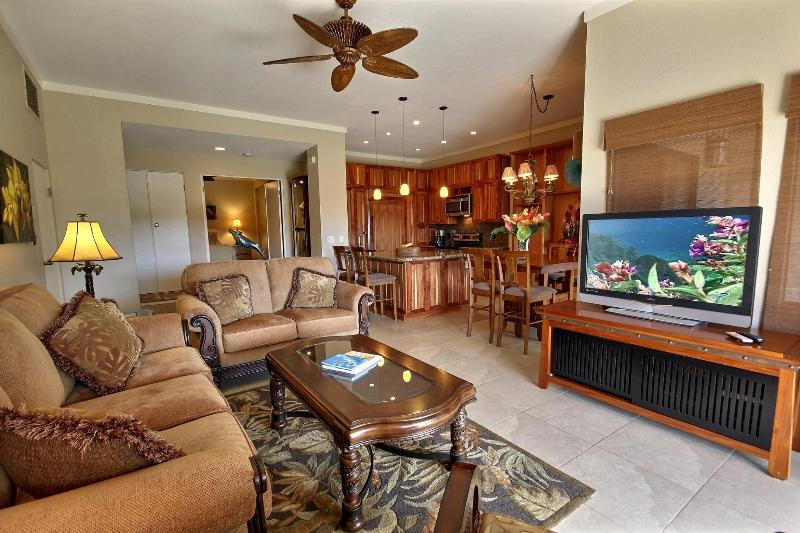 living room - The most Gorgeous 2bd2ba OV Villa  in Kapalua! - Kapalua - rentals