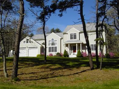 Street view of your vacation home - Chatham lux 5 bedrm  Near bike path. Walk to pond - Chatham - rentals