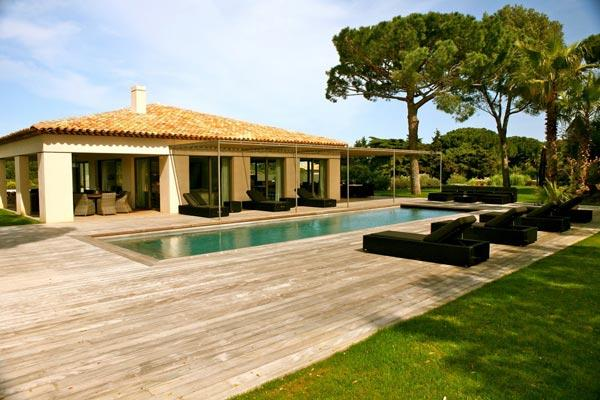 Ocean view villa between the village and beach. ACV ENT - Image 1 - Saint-Tropez - rentals