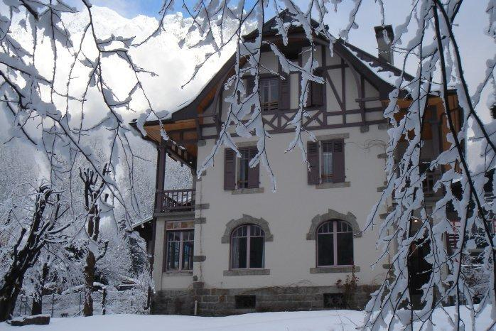 Winter exterior - Villa Terrier, Chamonix - Chamonix - rentals