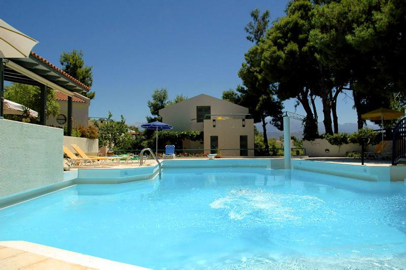 Apartment 4 - view from the pool - Villa Pefki - Apartment 4 - Chania - rentals