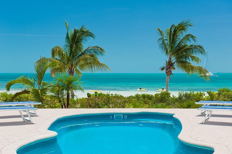 Sunny, tropical Coconut Beach Villa! - Coconut Beach Villa - Beachfront 3-6 BR Brand new! - Providenciales - rentals