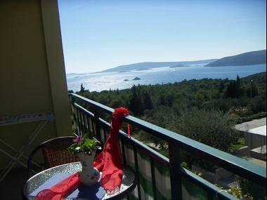 A2(2+2): terrace view - 5139  A2(2+2) - Seget Vranjica - Seget Vranjica - rentals