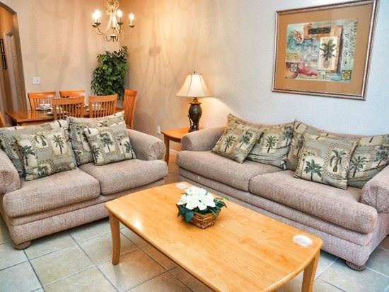 Living Area - RO3T2716RL 3 Bedroom with Large Community Pool - Orlando - rentals