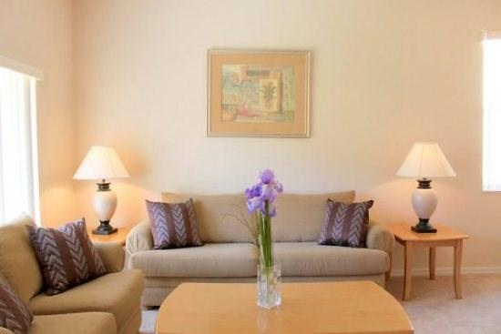 Living Area with Sofa Seating - RP4T131PD 4 BR Town Home near Local Attraction - Orlando - rentals