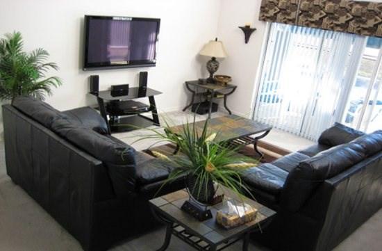 Family Room - LPH4P159MD 4 Bedroom Elegant Pool Home with Hi-Speed Internet - Orlando - rentals