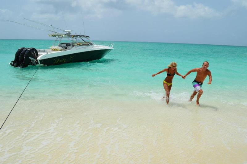 Private Beach Drop Off on Lady K - Caicos Adventures - Luxury 4BR Villa on the Water.  - Owner Direct - Providenciales - rentals