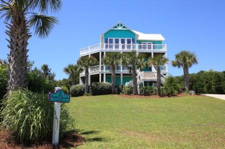 Captains Quarters Exterior - Captain's Quarters - Emerald Isle - rentals