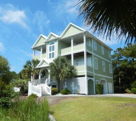 Calypso Escape Exterior - Calypso Escape - Emerald Isle - rentals