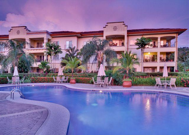 Del Mar Building at Twilight - Spectacular Oceanview Condo, perfect for your family vacation! - Herradura - rentals