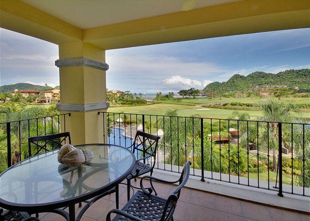 Terrace with amazing view. - Luxury Condo at Los Sueños, Access to all Amenities, Great Sport Fishing! - Herradura - rentals