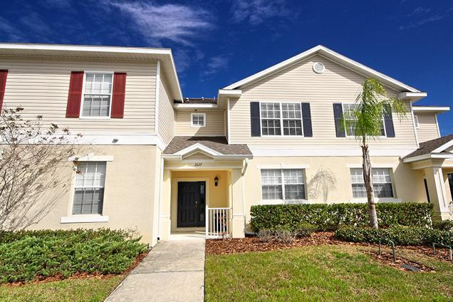 Front of home - Trafalgar Village 3 Bed Townhome  (2637-TRA) - Kissimmee - rentals