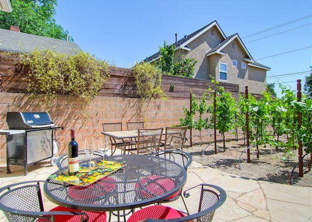 Backyard - Urban Micro Zinfandel Vineyard in Downtown Paso - Paso Robles - rentals