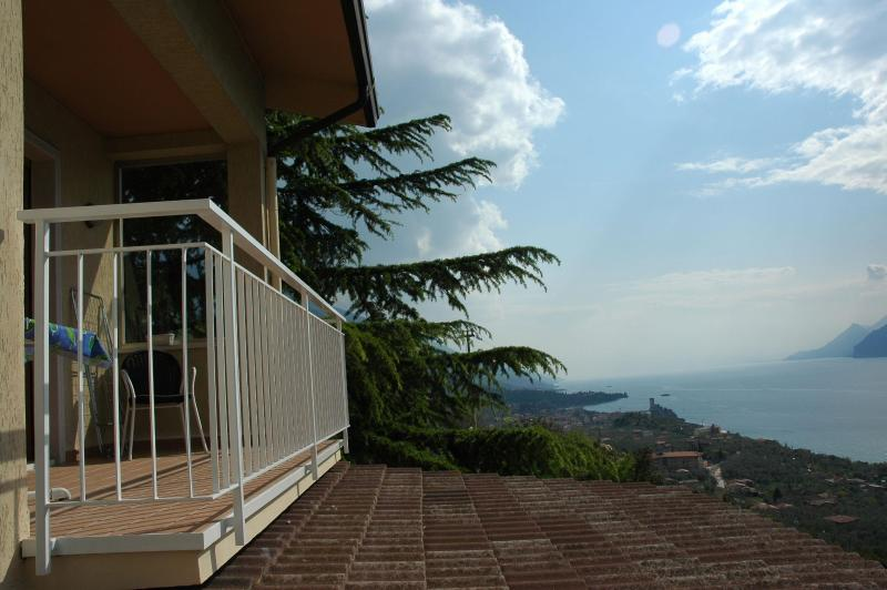 Lake view from the balcon - Apartment Casa Prea two bedrooms - Malcesine - rentals
