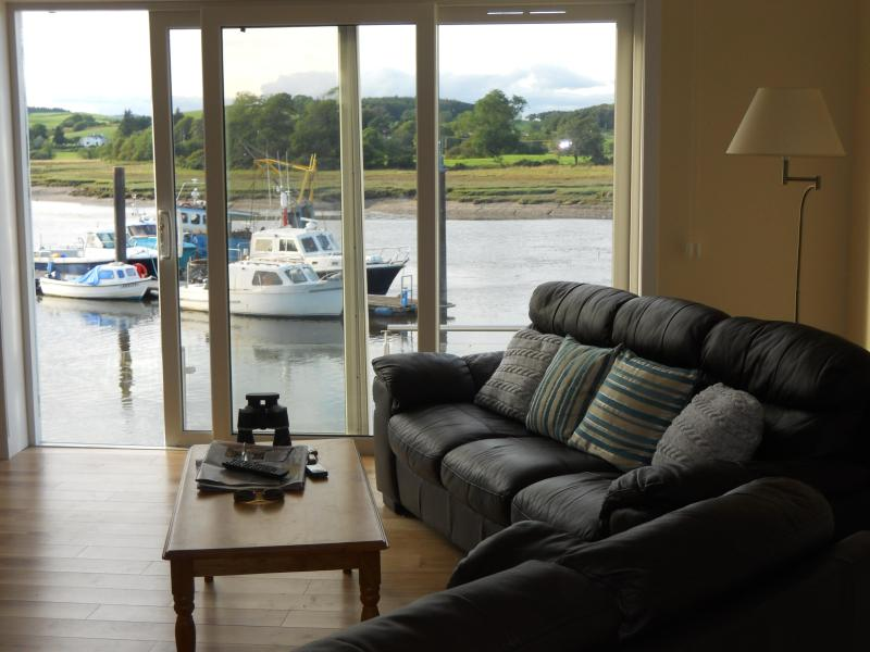 river view from sitting room - The Boathouse - Kirkcudbright - rentals