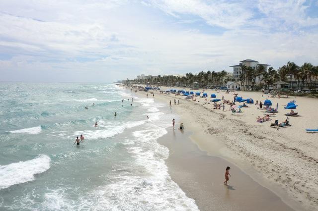 Just walk across AIA to the beach access road. - Ocean Villas of Deerfield - Deerfield Beach - rentals