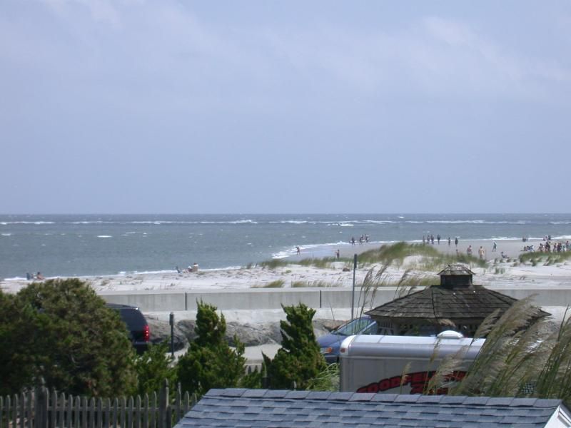View from back deck - Beautiful Beach Block Ocean View 3 Bd/ 2 Bath - North Wildwood - rentals
