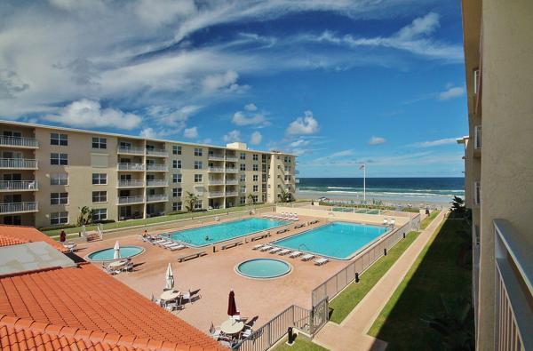 Breathtaking View from the Balcony - Sea Coast Gardens III 312, Oceanfront Comfort! - New Smyrna Beach - rentals