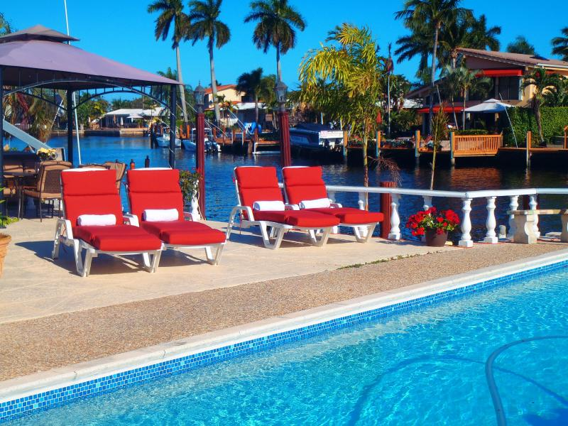 Pool - Waterfront Pompano Beach - Pompano Beach - rentals