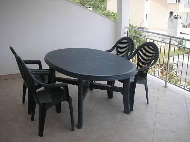 A2(2+2): terrace - 5165  A2(2+2) - Okrug Gornji - Okrug Gornji - rentals