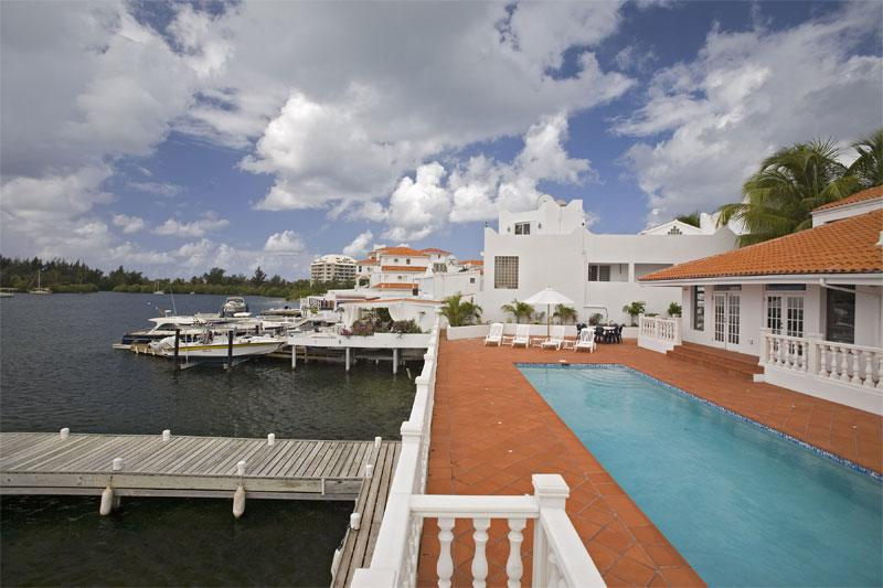 Villa d'Acquario at Point Pirouette, Saint Maarten - Waterfront with Large - Image 1 - Sint Maarten - rentals