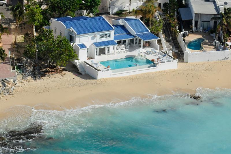 Caribbean Blue at Pelican Key, Saint Maarten - Beachfront, Amazing Sunset View, Perfect For A Family - Image 1 - Pelican Key - rentals