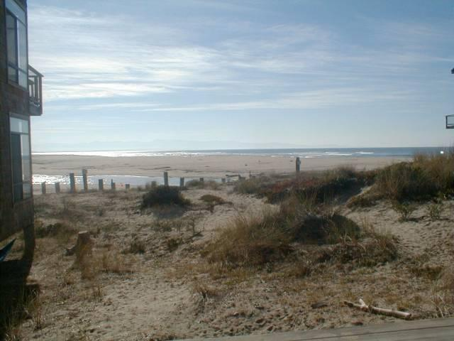 Across the dunes from living room - Pajaro Dunes Beach Front Condo at Pelican Point - Pajaro Dunes - rentals