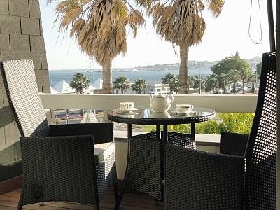 Enjoy a Nice Cup of Tea -From the Sea View Terrace - Sea View Lux Apt Located Next to 5* Hotel Palacio - Estoril - rentals