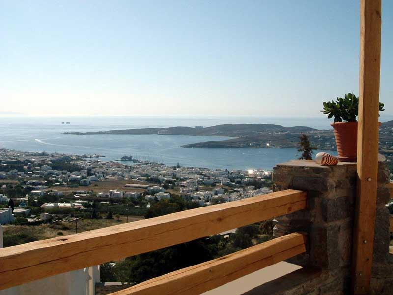 Veranda view - Parikia Paros seaview private Villa - Paros - rentals