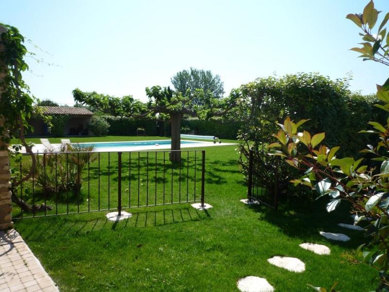 Jardin du Mazet et piscine du Mas - Au Cèdre de Saint Rémy charming Rental 2 Bedrooms - Saint-Remy-de-Provence - rentals