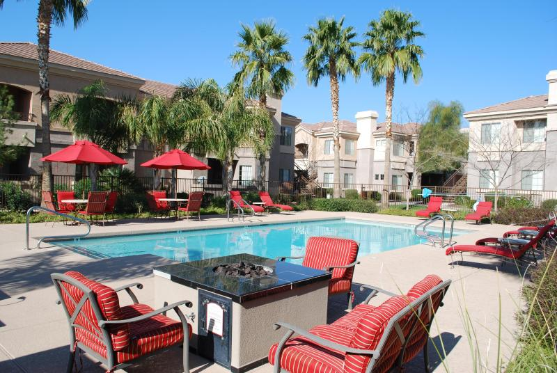 Pool 1 - Steps from suite - MESA GATED Condo Complex - Great Location 2BR 2BA - Mesa - rentals