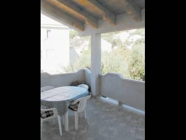 A2(4+1): terrace - 5168 A2(4+1) - Banjol - Banjol - rentals