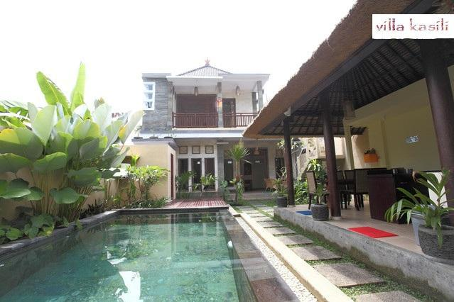 Villa from the entrance - Private boutique villa minutes from Ubud - Ubud - rentals