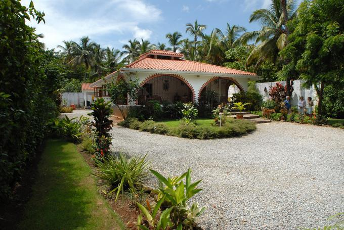 Casa Flamboyan - House in idyllic tropical garden by Playa Coson - Las Terrenas - rentals