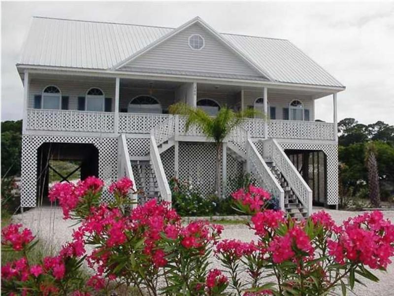 Front view - Gulf, Beach, Dunes, Pool Access! Pet Friendly! - Dauphin Island - rentals