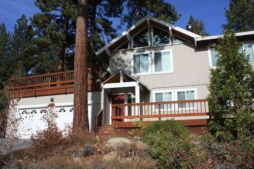 front exterior of this home - Sullivan - hot tub, pets ok, close to Tahoe City - Tahoe City - rentals