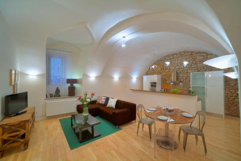 Two-Bedroom Vault Apartment - View - Two-Bedroom Vault Apartment - Prague - rentals