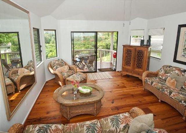 Amazing views from this Hanalei Bay Villa!  Free Standing Villa! - Image 1 - Princeville - rentals