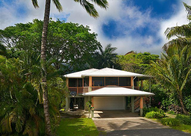 10% off March & April! Gorgeous Hanalei Bay Home  & Short Walk to the Beach!! - Image 1 - Hanalei - rentals