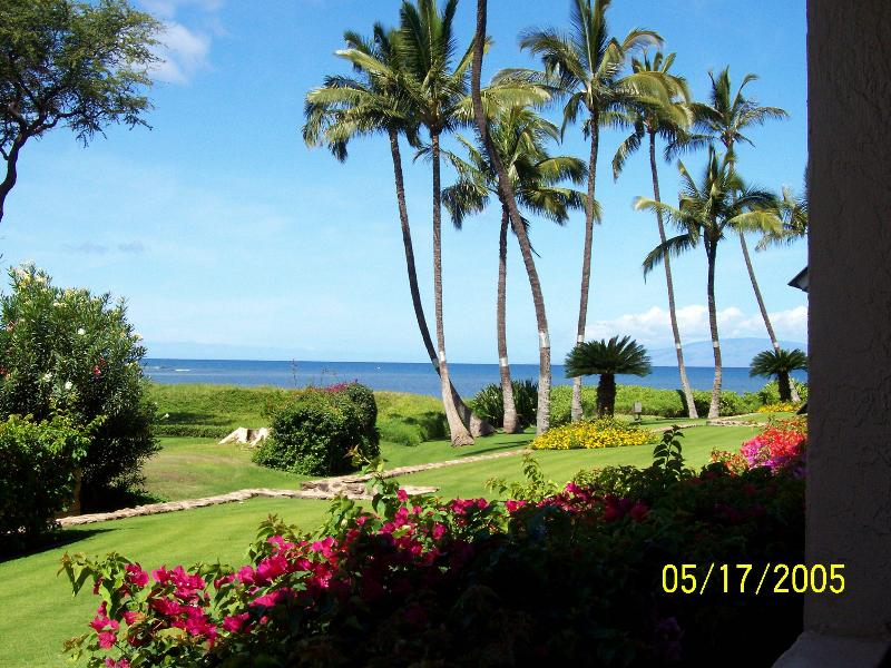 View from Our Lanai - Beautiful Ocean Front 2 Bed/ 2 Bath condo - Kihei, - Kihei - rentals