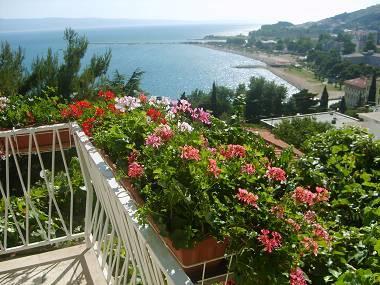 A1(3): balcony view - 5178 A1(3) - Omis - Central Dalmatia - rentals