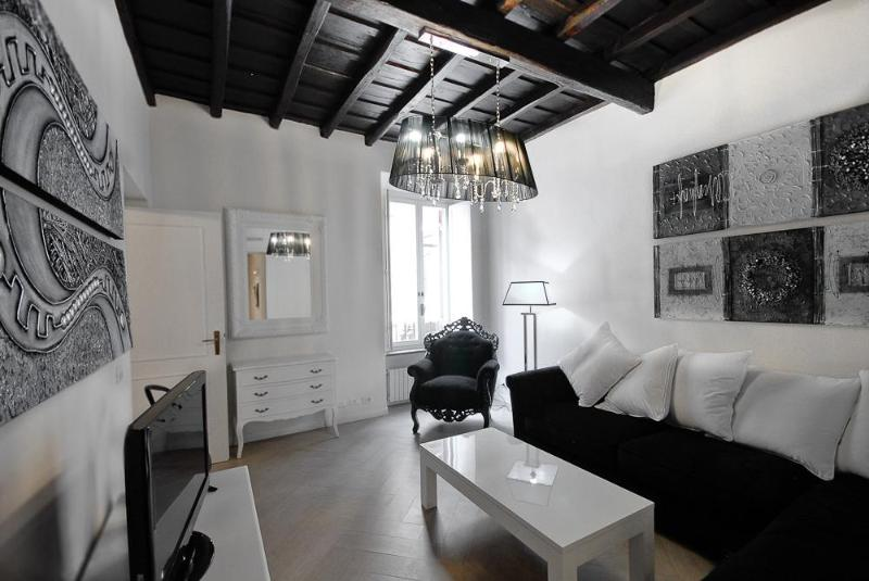 Living - Luxury 3Bdrs 2Bths in the Heart of Rome (Grace) - Rome - rentals