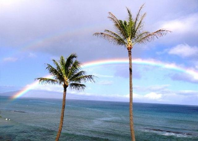 Lots of rainbows - Beautiful Sunsets From Right Here - Lahaina - rentals
