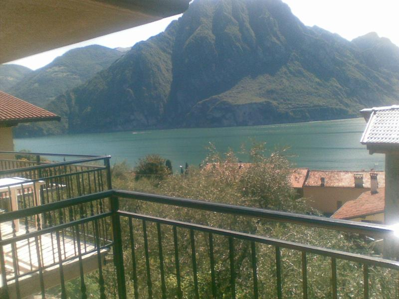 View from balcony - LAKE ISEO 2 bedrooms  APARTMENT - ULIVI - - Riva di Solto - rentals