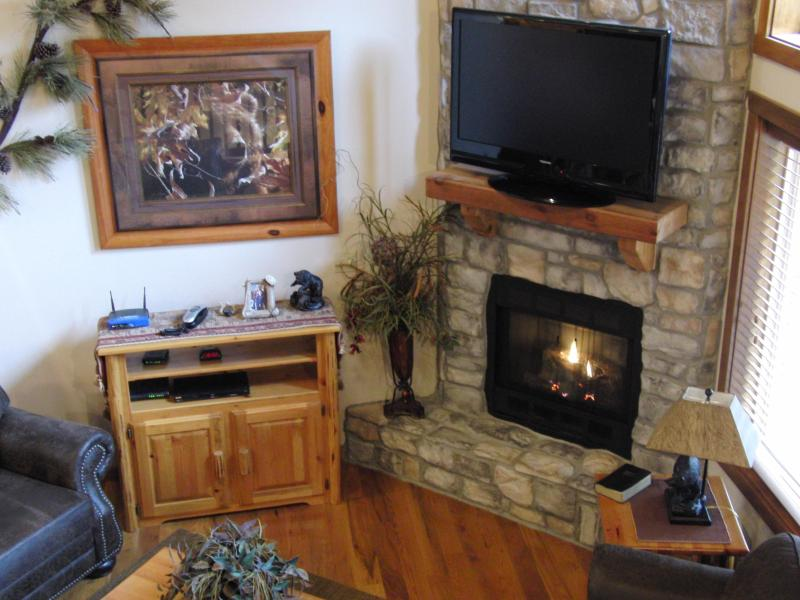 Stone Gas Fireplace with Vaulted Ceilings - April Remaining Nights $300 Night - Branson - rentals