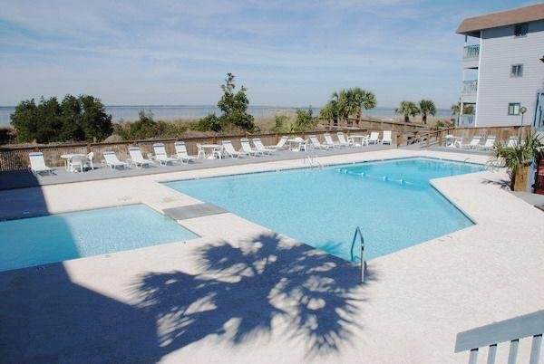 Pool Area - 220B SBRC - prices listed may not be accurate - Tybee Island - rentals