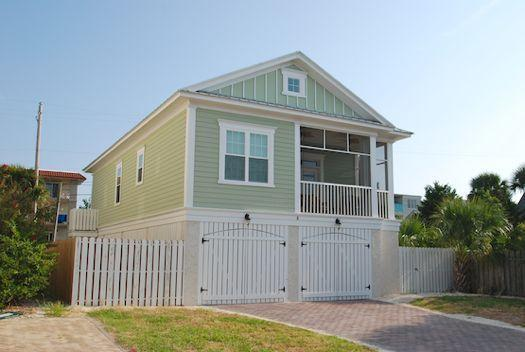 Front of home - 17th Dream - prices listed may not be accurate - Tybee Island - rentals