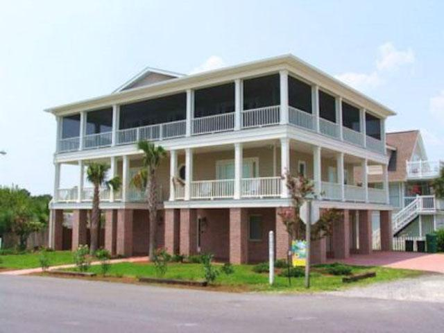 Exterior Front of Home - Blue Skye - prices listed may not be accurate - Tybee Island - rentals